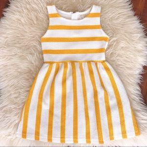 Zara Girls Sunshine Stripe Dress